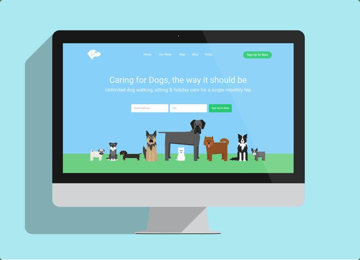 DoggieShare Vector Illustrations