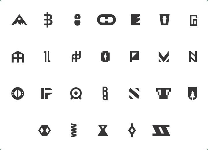 A - Z Alphabet Icons