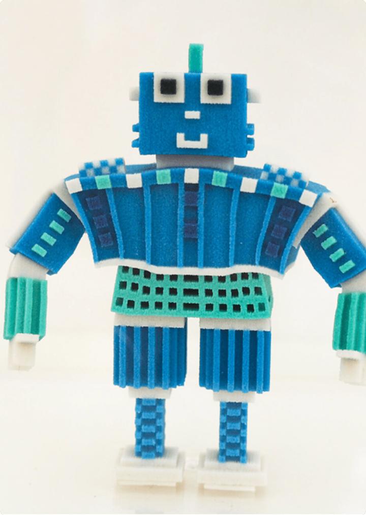 Bob - 3D Sand Printed Character