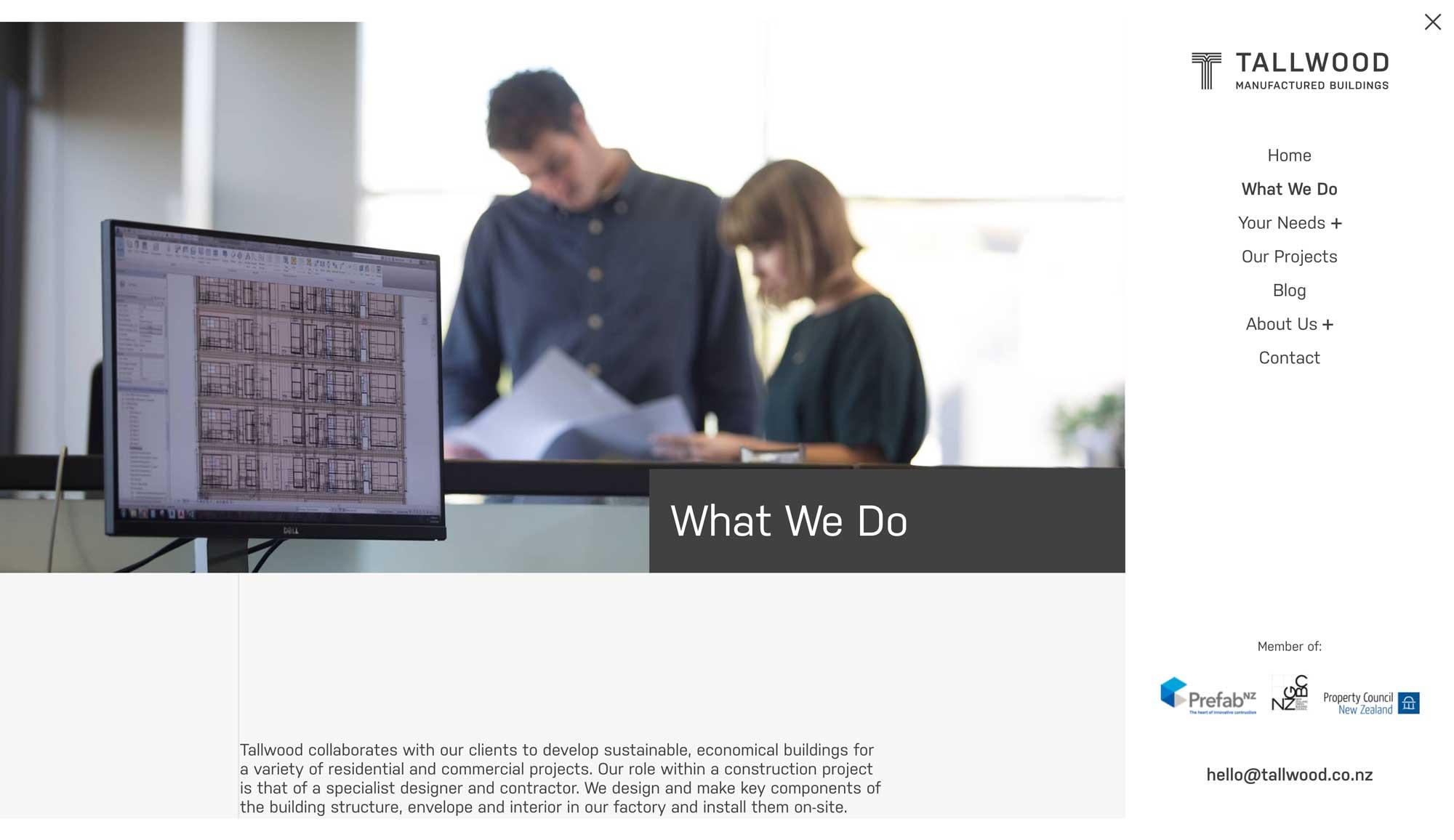 Tallwood - Website Design
