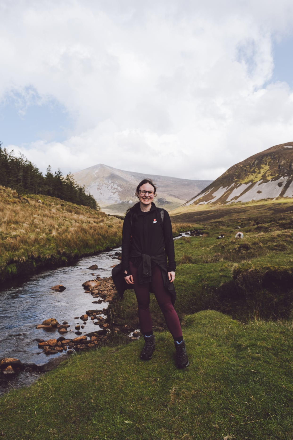 Profile photo of Emma in the mountains of Co Mayo, Ireland