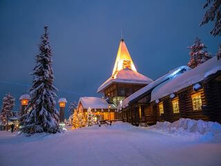 Santa Claus Village on arctic circle