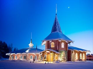 Santa Claus Village on arctic circle