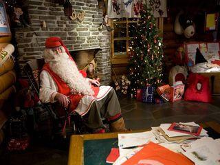 Meet mr.Santa