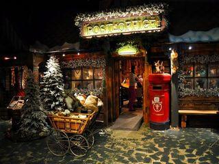 Santa Claus Post office at Arctic Circle