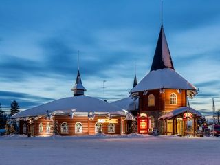 Santa Claus gift house