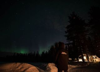 Northern Lights, if lucky!