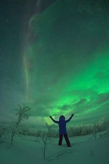 see the magical dancing Northern Lights