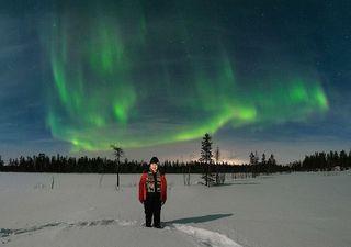 Small group aurora hunting