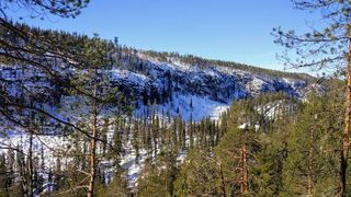 Korouoma National Park Hiking trail