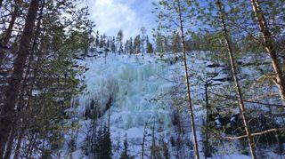 Charlie brown waterfall