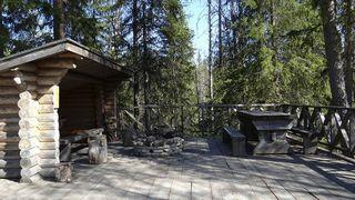 Auttiköngäs grilling hut