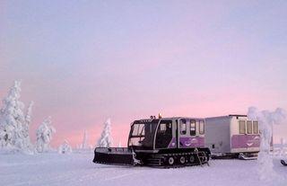 Lampivaara Amethyst mine Snow Train