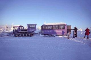 Pyhä Luosto Hill Snow train