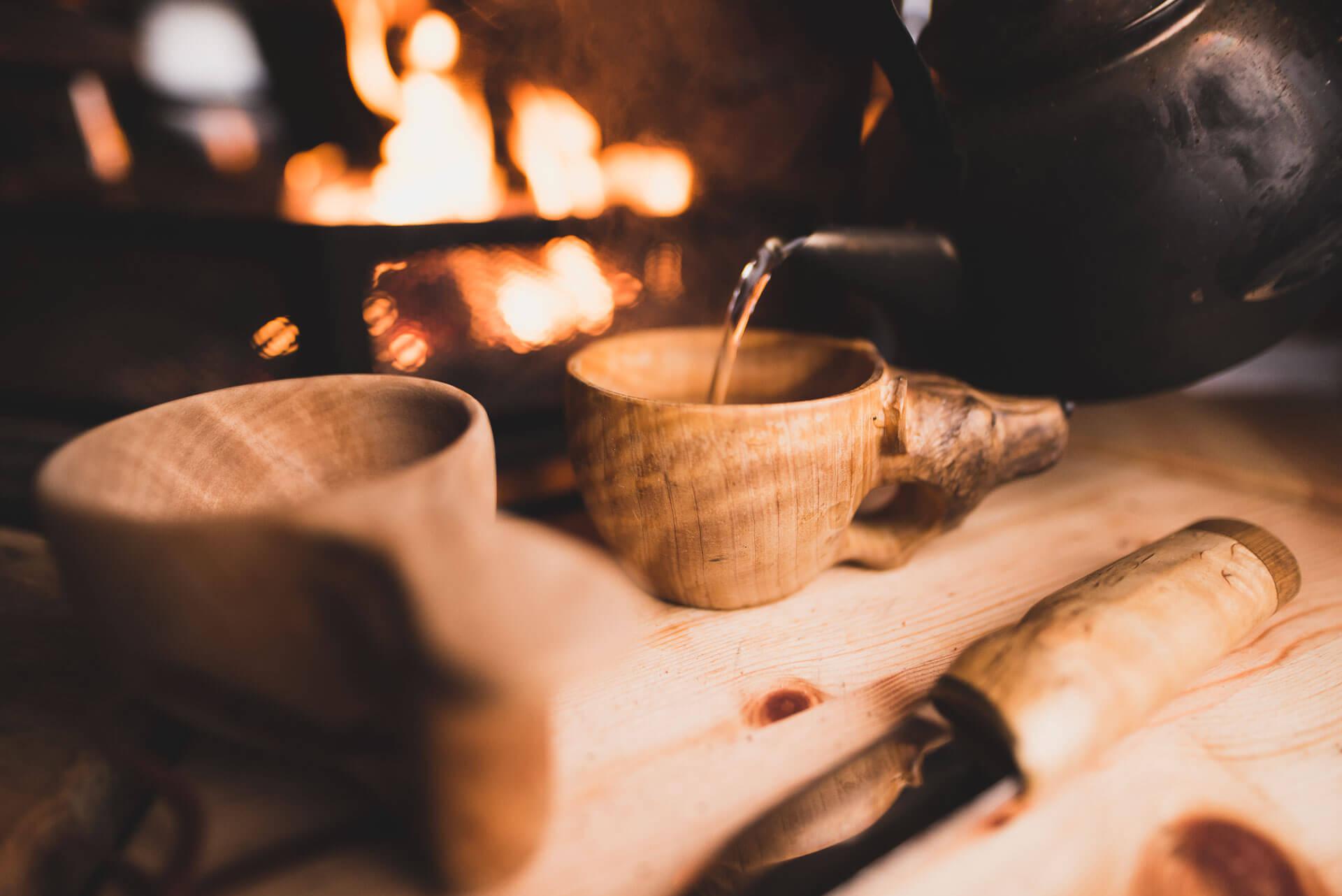 Kuksa cup & Finnish knife