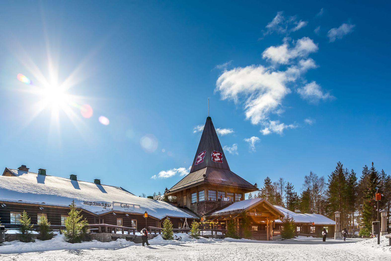 Rovaniemi, Santa Claus Village, Arctic Circle, winter 2018