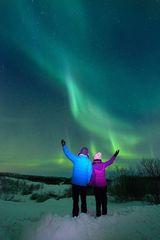 Northern Lights hunting adventure