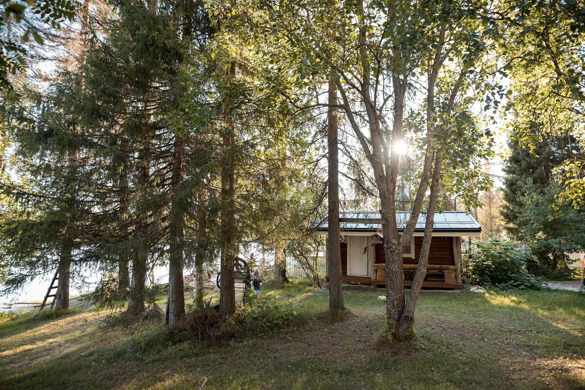 Firewood sauna in 20km from Rovaniemi