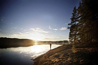 Midnight sun, Rovaniemi
