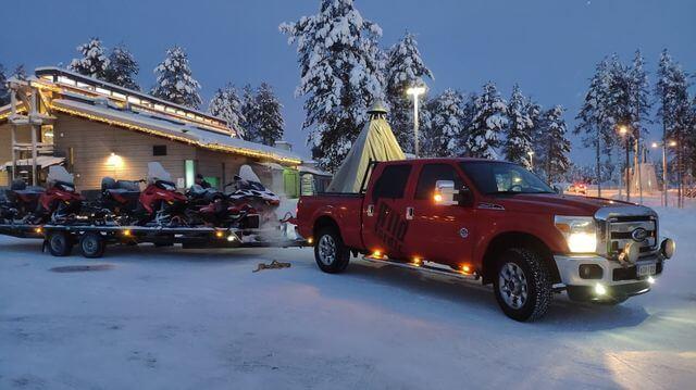 Ready for the snowmobile safari?:)