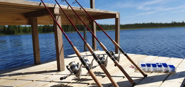 Summer fishing in Rovaniemi