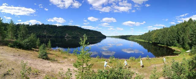 Beautiful Lappish nature