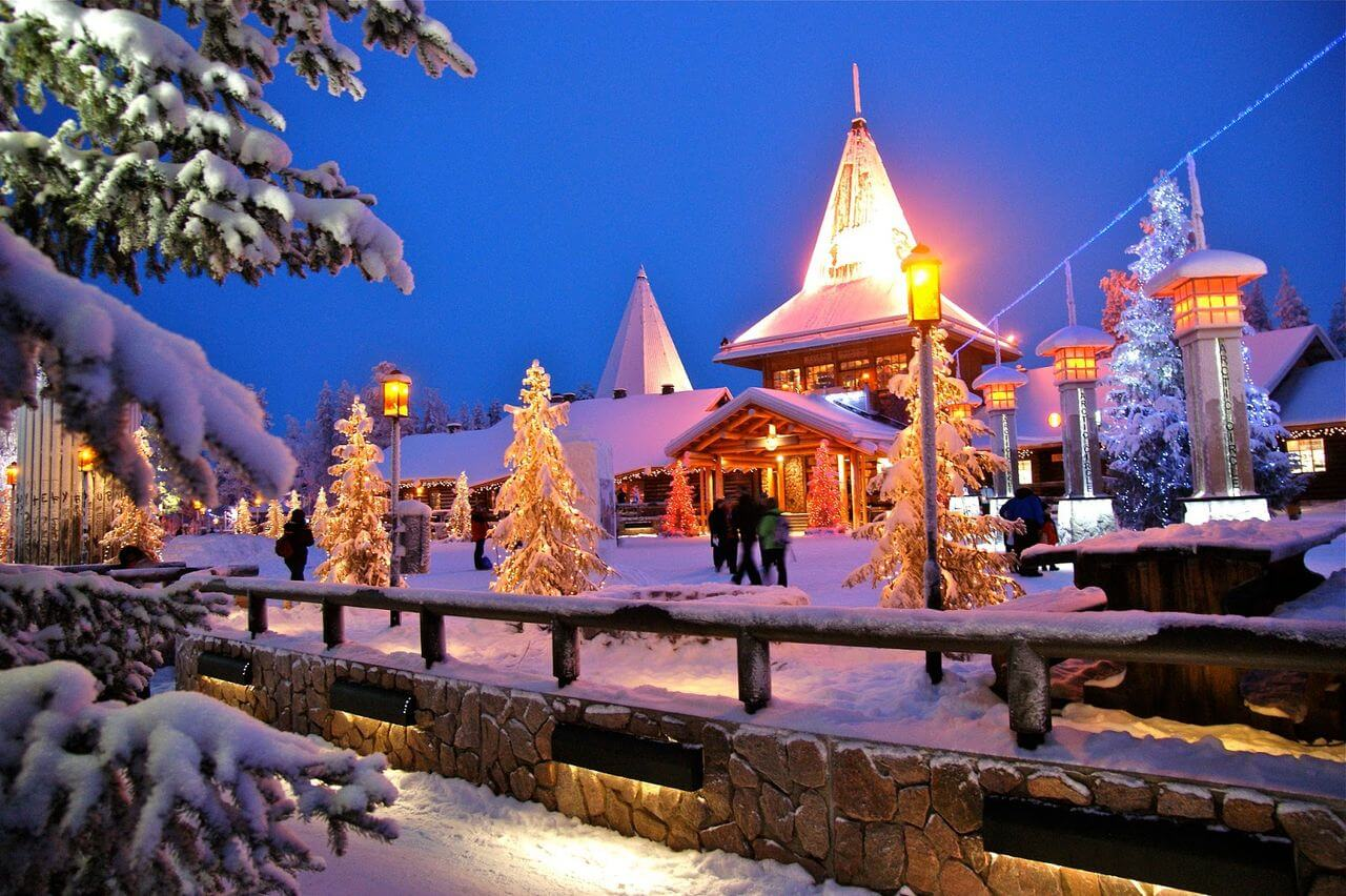 For those who always wanted to meet Santa Claus, we have good news! Now you can come to Lapland Christmas village, the official town of Santa Claus and meet the man himself.