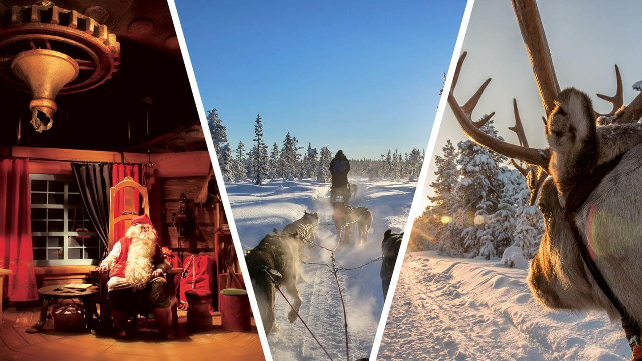 What would you do if you wanted to experience an ultimate winter adventure? Well, of course, you would visit Santa's village and try husky and reindeer sleigh rides!