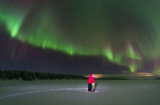 Private Northern lights expedition