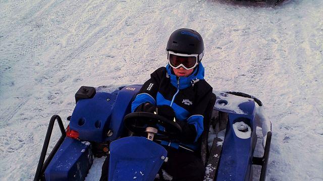 Karting on ice open race