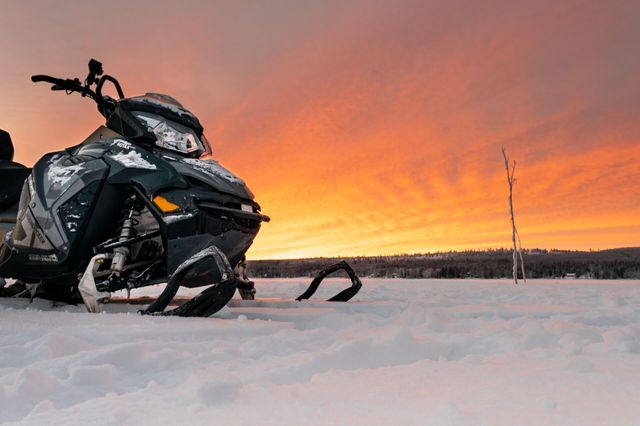 This is a full day snowmobile tour for those who really want to do snowmobiling and experience the best of Lapland wilderness. The tour takes you further from the usual safari trails as we ride our snowmobiles in the north direction from Santa Claus Village.