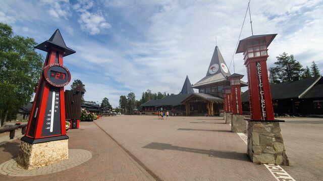 Santa Claus Village, summer 2020