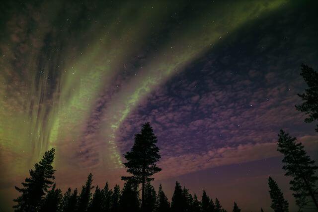 ~40 km from Rovaniemi, Northern Lights, autumn