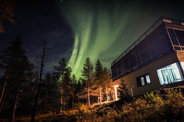 Sky Hotel Ounasvaara and Northern Lights 2020