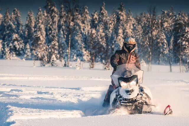 Snowmobiling 2021 January
