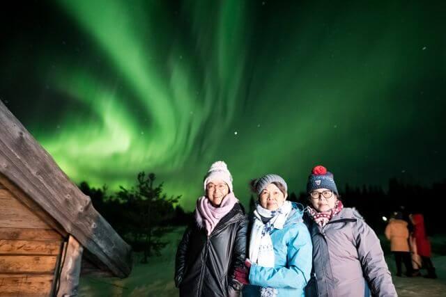 Northern Lights Hunting safari, 2019 Feb.
