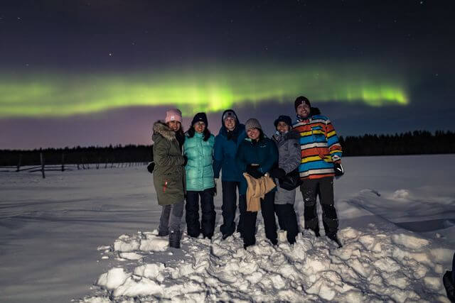 Rovaniemi Northern lights, March 2021