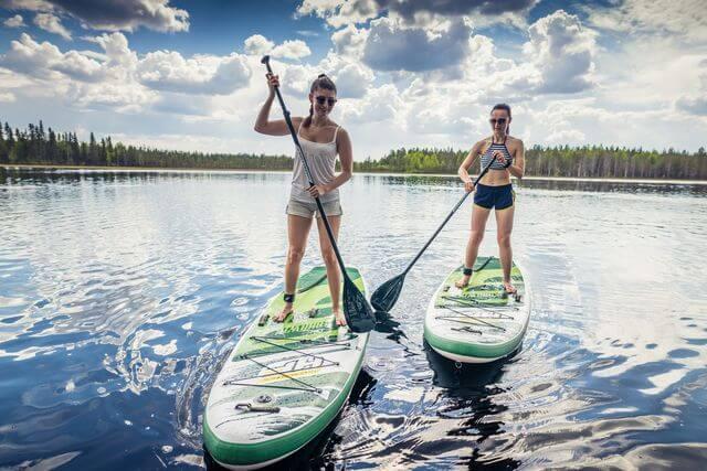 Rovaniemi Sup Board rent hire summer activity