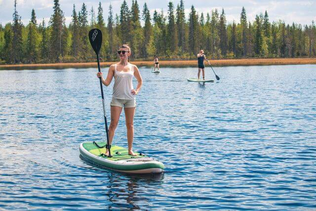 Rovaniemi stand up paddle board suitable for everyone