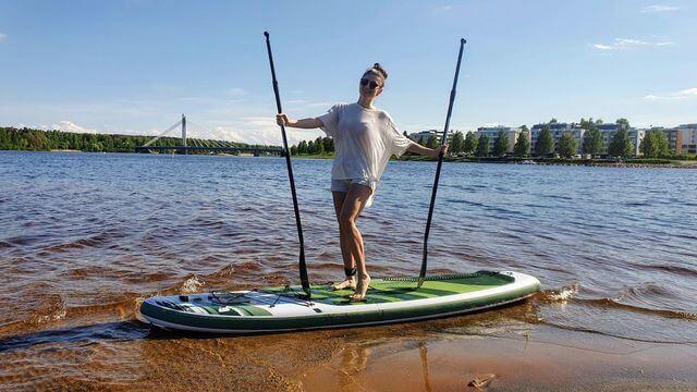 Rovaniemi Summer adventures, do it yourself, Stand Up Paddle Rovaniemi
