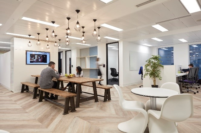 Agile working in an office environment can increase productivity