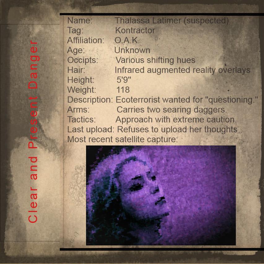 Cyberpunk Thalassa Latimer