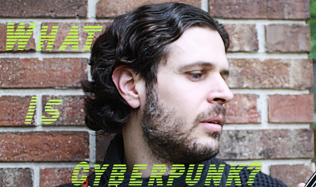 Picture of Mark Everglade asking What is Cyberpunk?