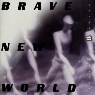 Picture of science fiction book brave new world cover