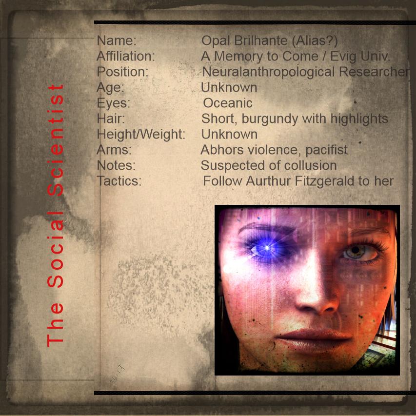 Cyberpunk Opal Brilhante