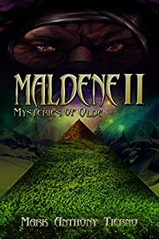 Maldene book cover by mark anthony tierno
