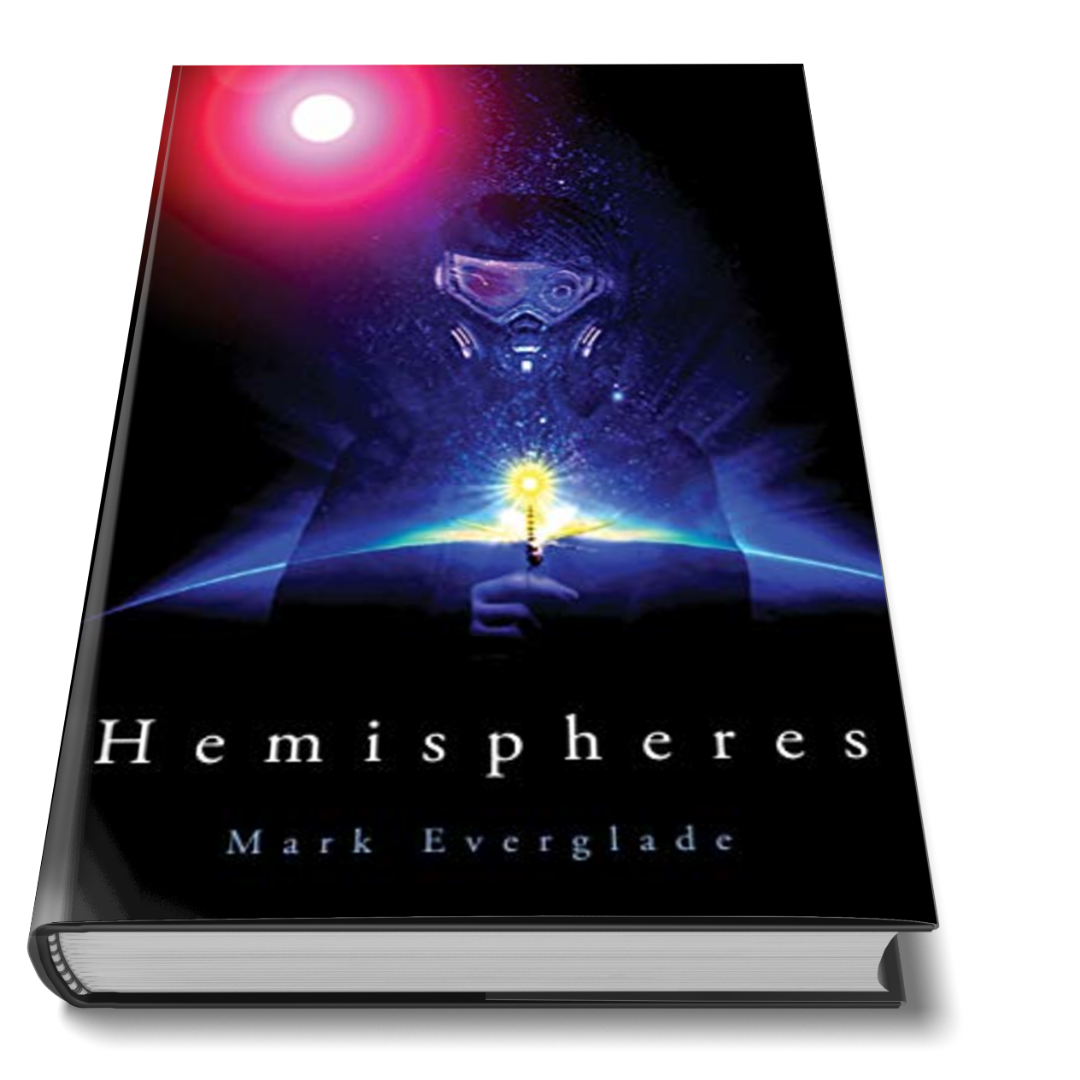 Cover of Cyberpunk Book Hemispheres by Mark Everglade