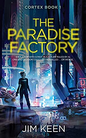 cyberpunk Book cover of The paradise factory