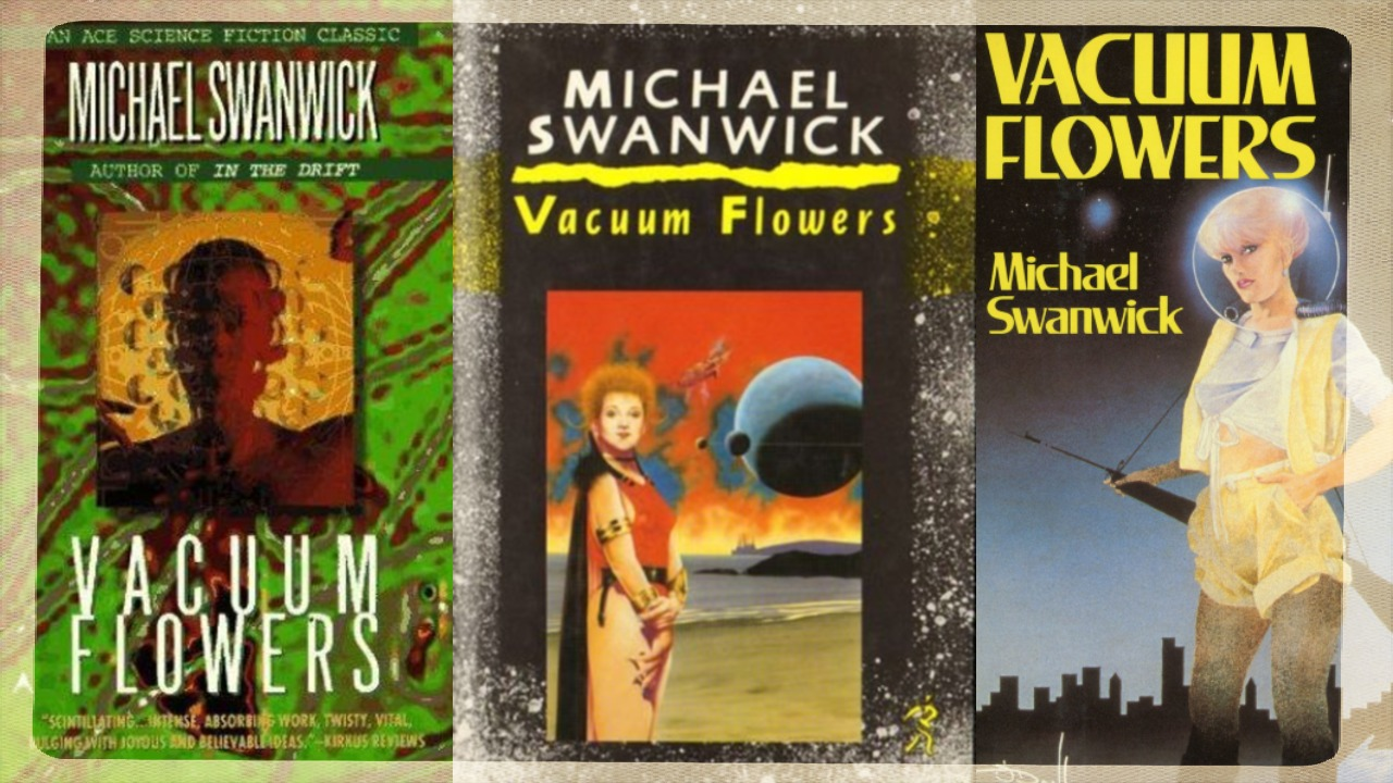 Vacuum Flowers Book Covers