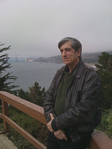 Photo of science fiction and fantasy author Michael Swanwick in 2019
